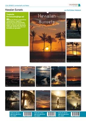 Kalender Hawaiian Sunsets