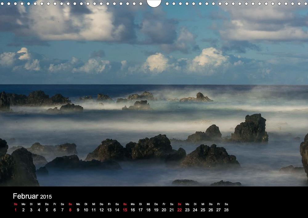 Kalender Hawaii – Magisches Wasser
