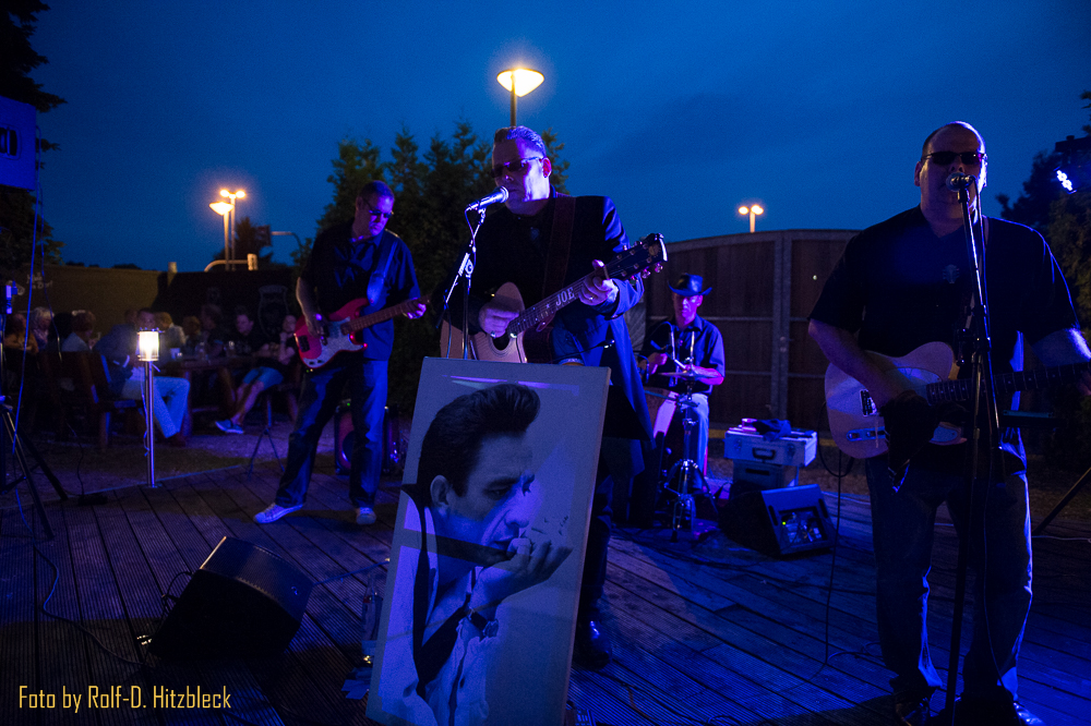 Johnny Cash Experience spielt in Moers