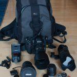 Die Reisekameraausrüstung Oregeon 2015