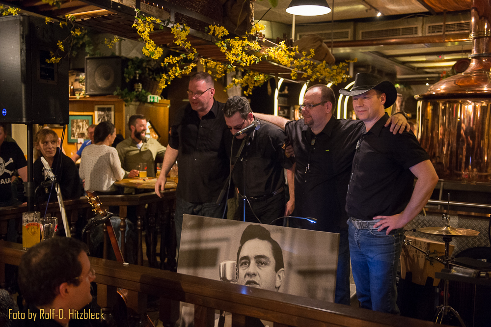 Johnny Cash Experience spielt im Brauhaus Webster in Duisburg