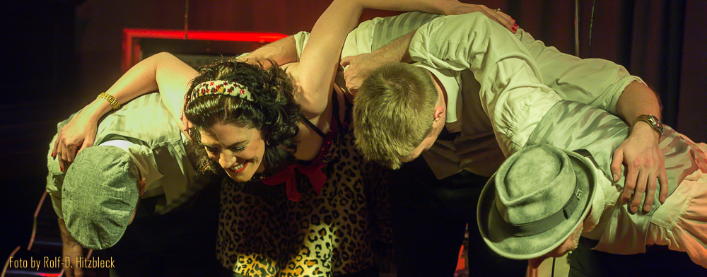 Rockin' Rhonda and the Solid Studs spielen im Klub Berlin in Köln