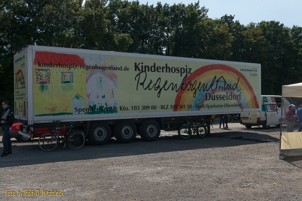 Truck Kinderhospiz Regenbogenland