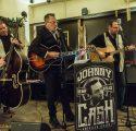 Weihnachtskonzert mit Johnny Cash Experience Trio im Brauhaus in Moers