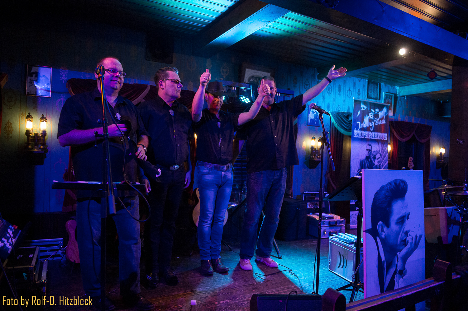 Johnny Cash Experience spielt am 13.09.2014 im Yukon Saloon