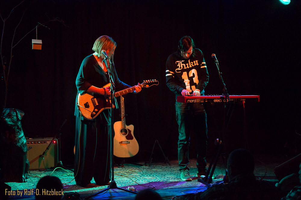 Hanna Fearns & Ken Stringfellow spielen in Duisburg